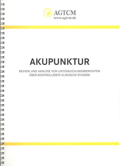 WHO Studien Akupunktur